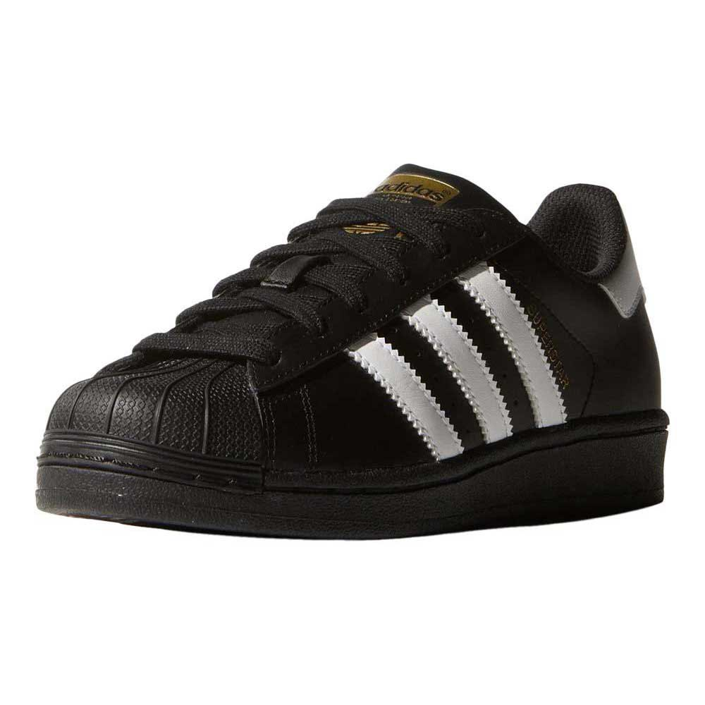 adidas originals Superstar Foundation J Core black   ftwr White   Core  Black d83c5d5e4b3