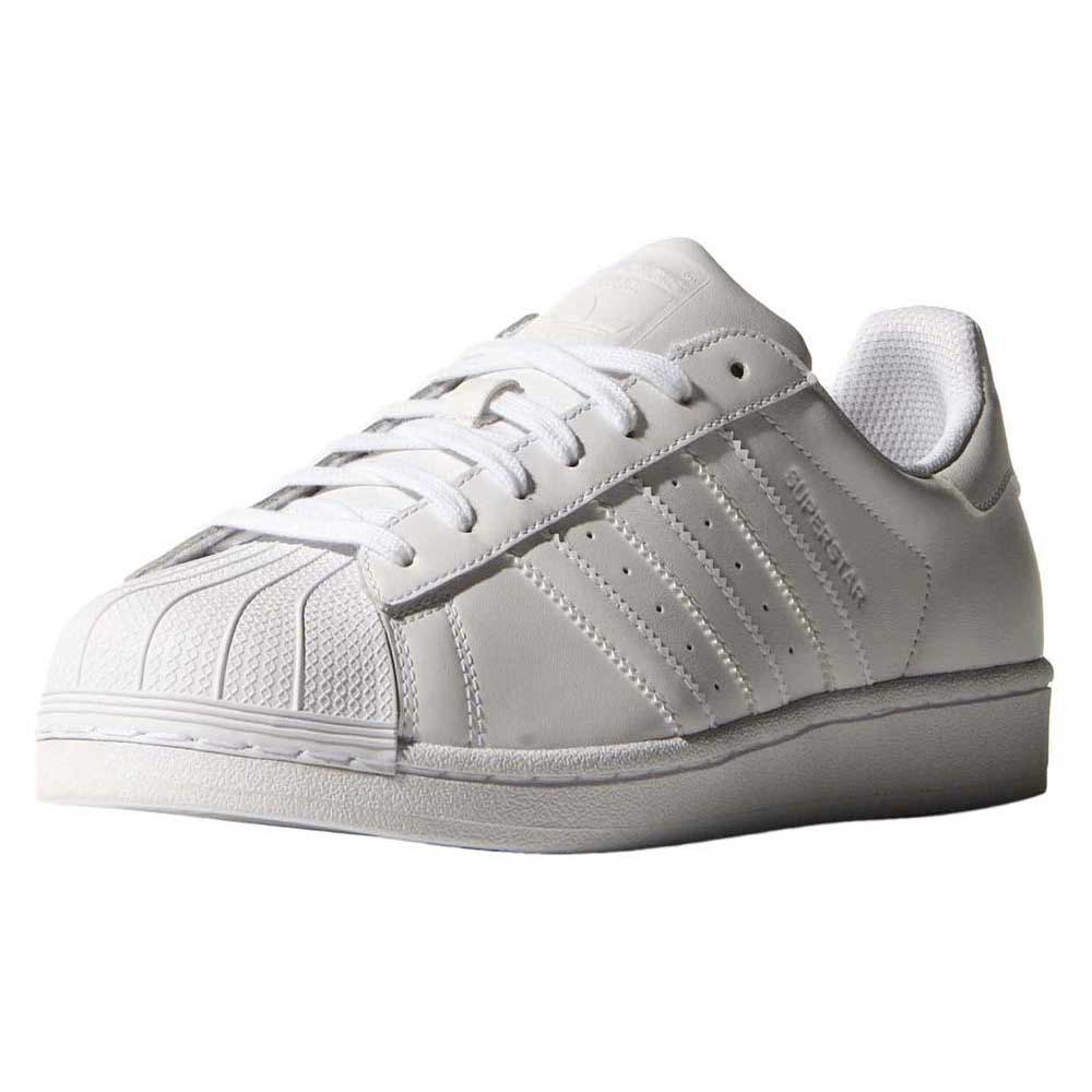 adidas Superstar Foundation C Little Kid's Shoes White/black Ba8378