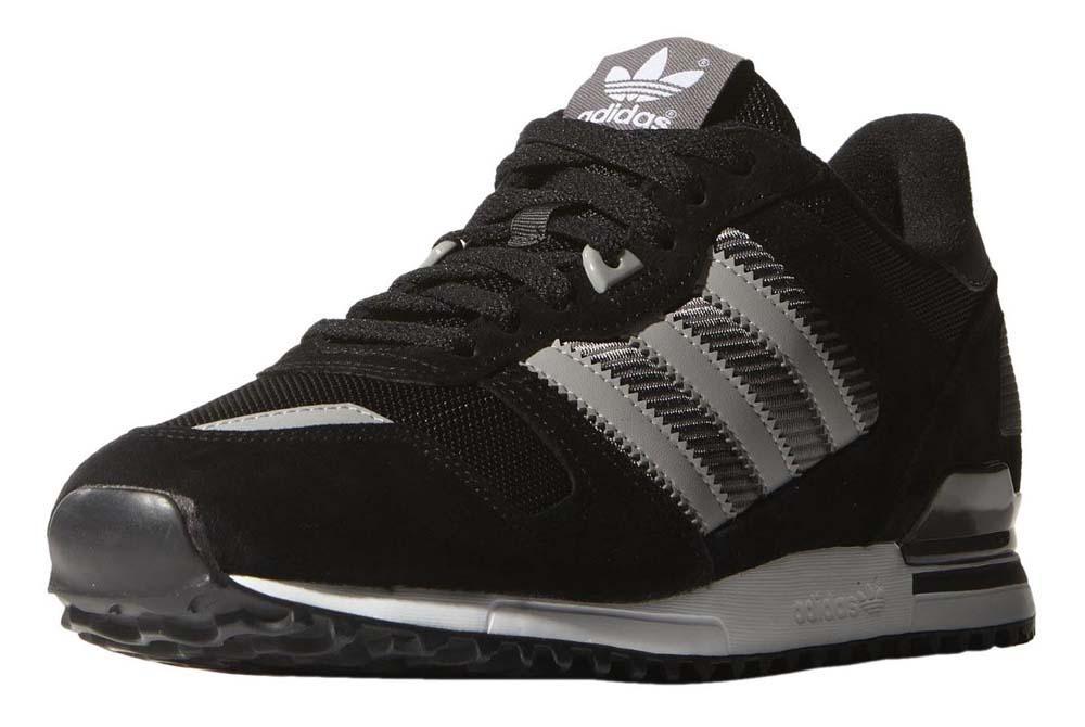 Adidas originali zx 700 nucleo solido granito grigio / nero / mgh, dressinn