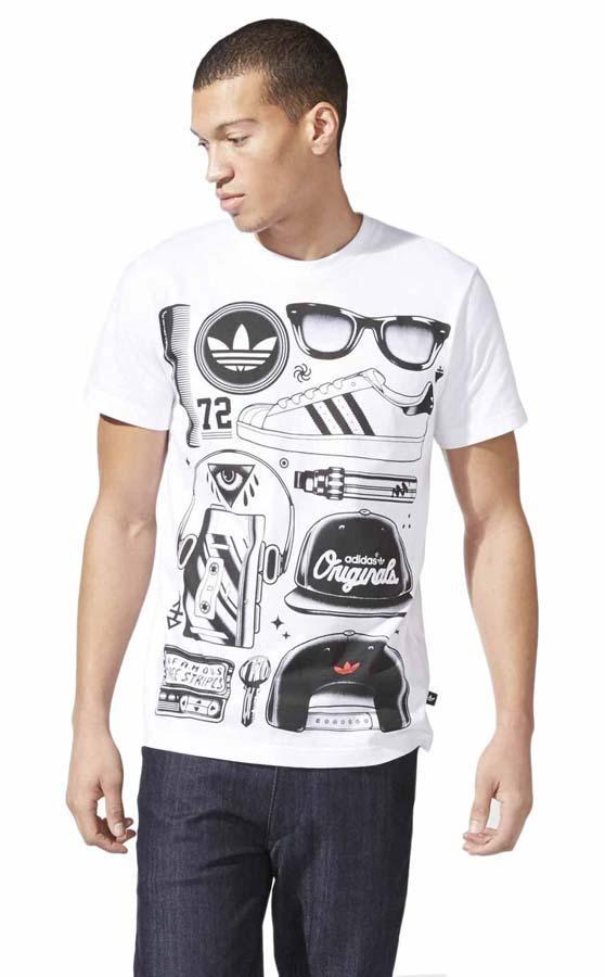 470baccf2e36 adidas originals Superstar Look Tee buy and offers on Dressinn