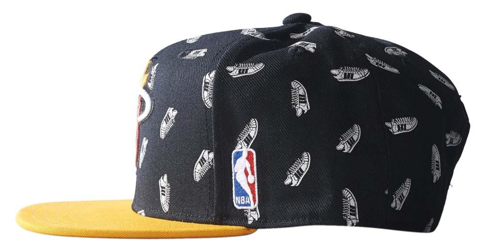 0decdddc3d7b0 ... adidas originals Nba Snapback Cap Heat Superstar ...