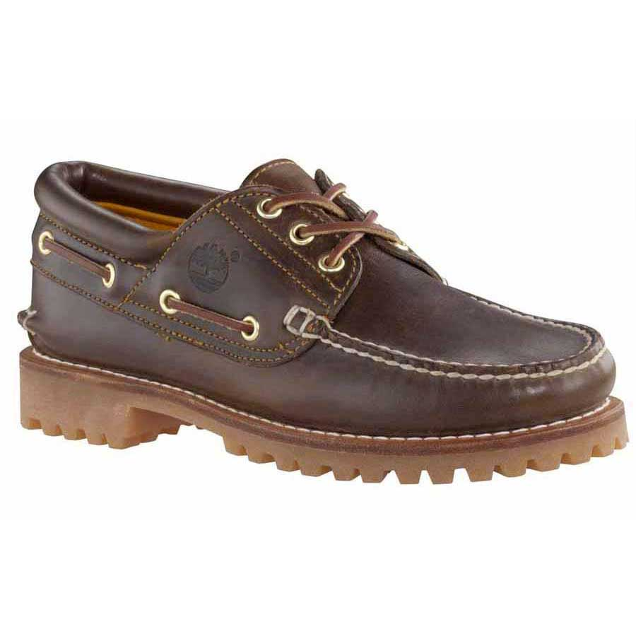 Timberland 3 Eye Classic Lug Shoes Pull Up Wide