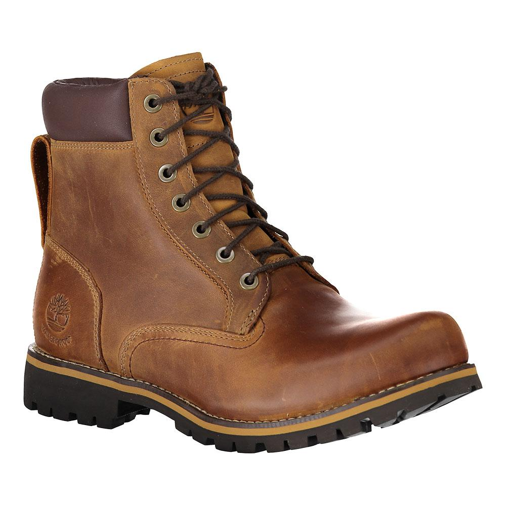 timberland rugged 6 in plain toe boot wp marron dressinn. Black Bedroom Furniture Sets. Home Design Ideas