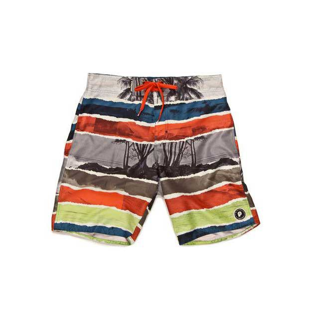 Protest Wind Beachshort Coral