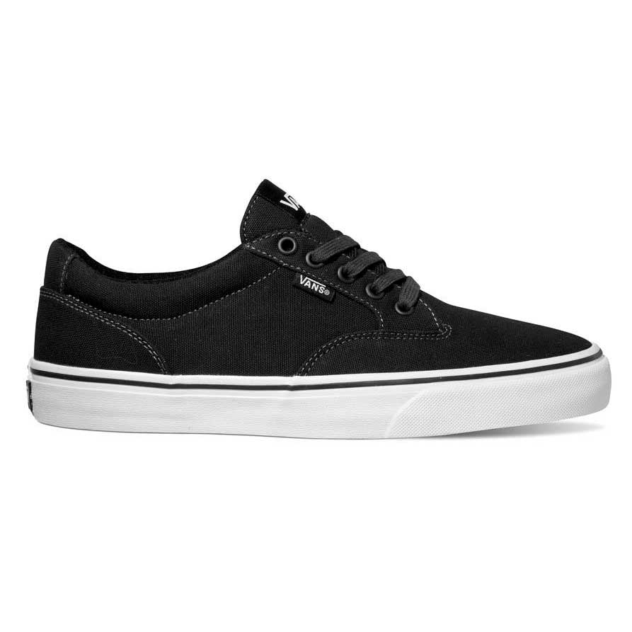 96a97bc6546021 Vans Winston Black buy and offers on Dressinn