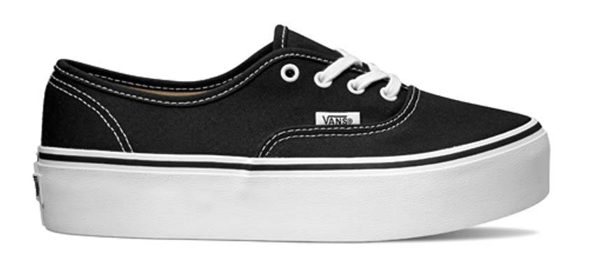 Vans Authentic Platform comprar e ofertas na Dressinn Sneakers 730b44305b5