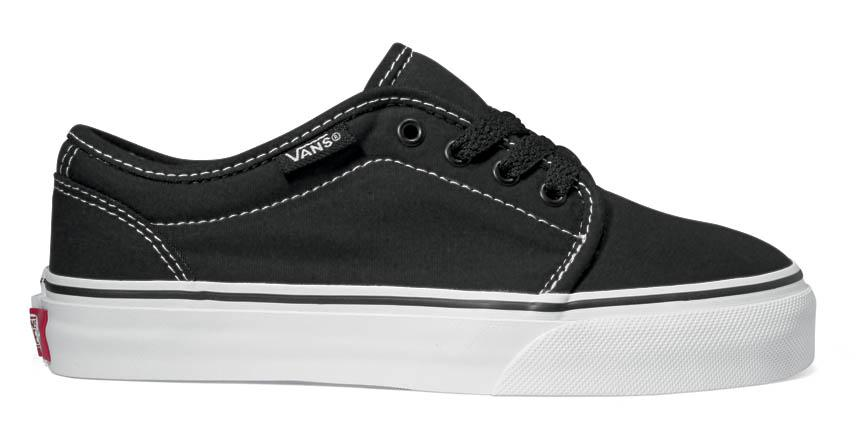 Vans 106 Vulcanized EU 34 1/2 Black / True White