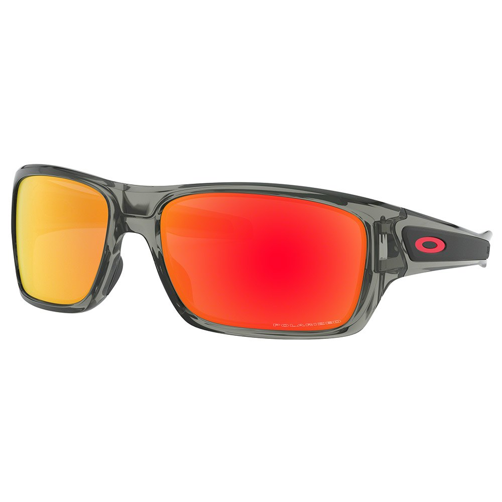 42f5de8357d Oakley Turbine Polarized Grey buy and offers on Dressinn