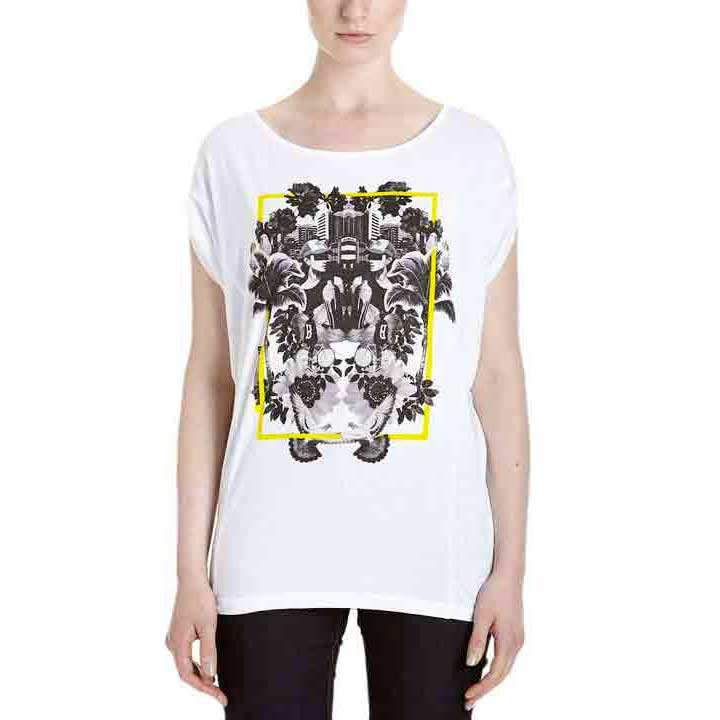 Bench Refleckt S/s Graphic Top