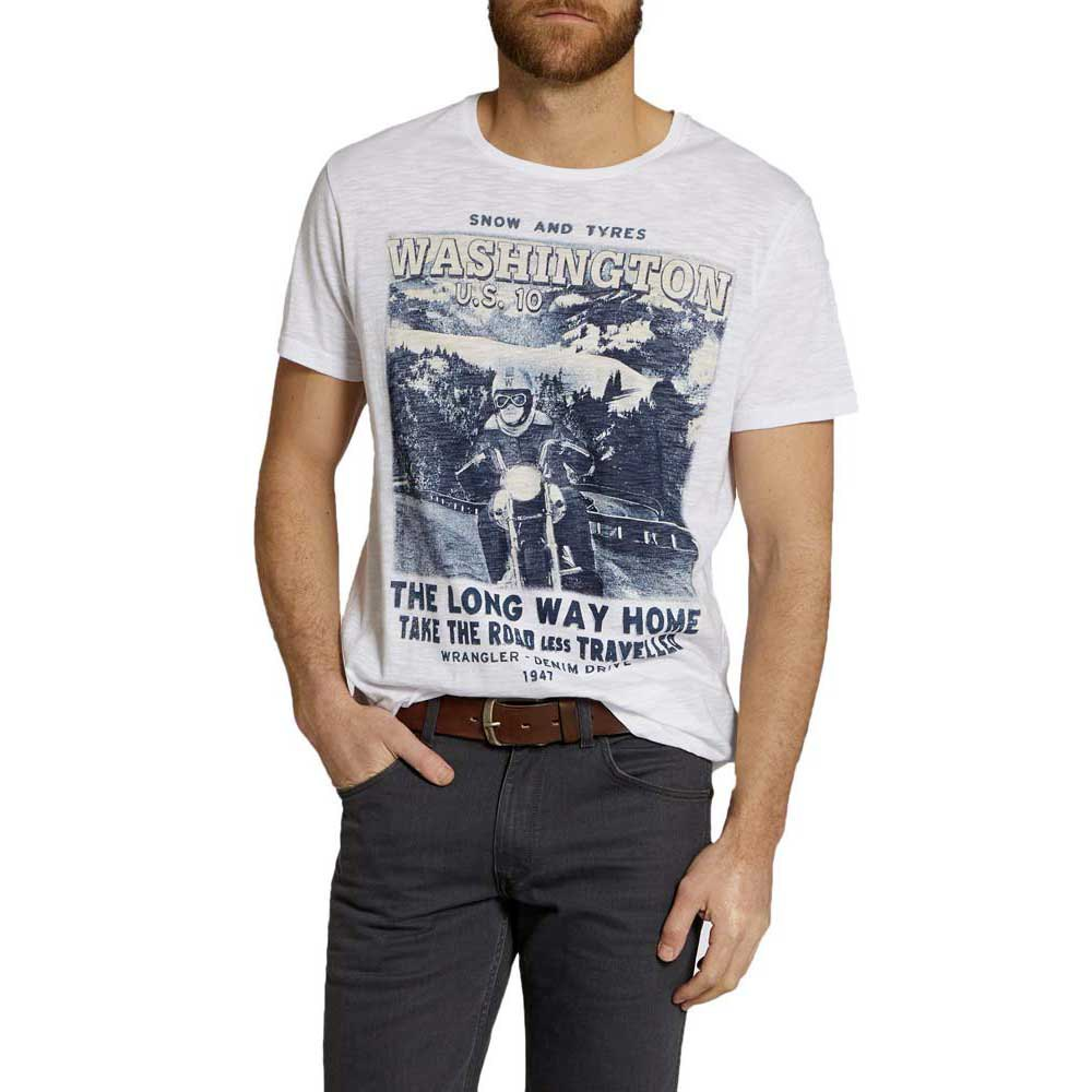 Wrangler S/S Long Way Home Tshirt