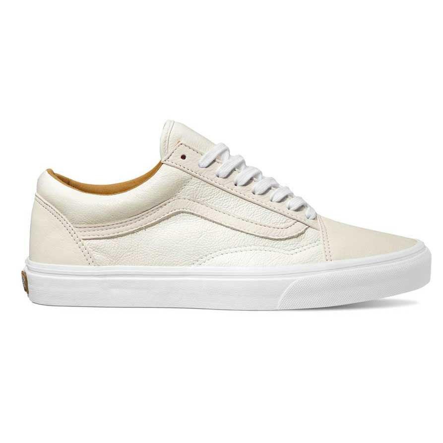 scarpe vans uomo bianche pelle