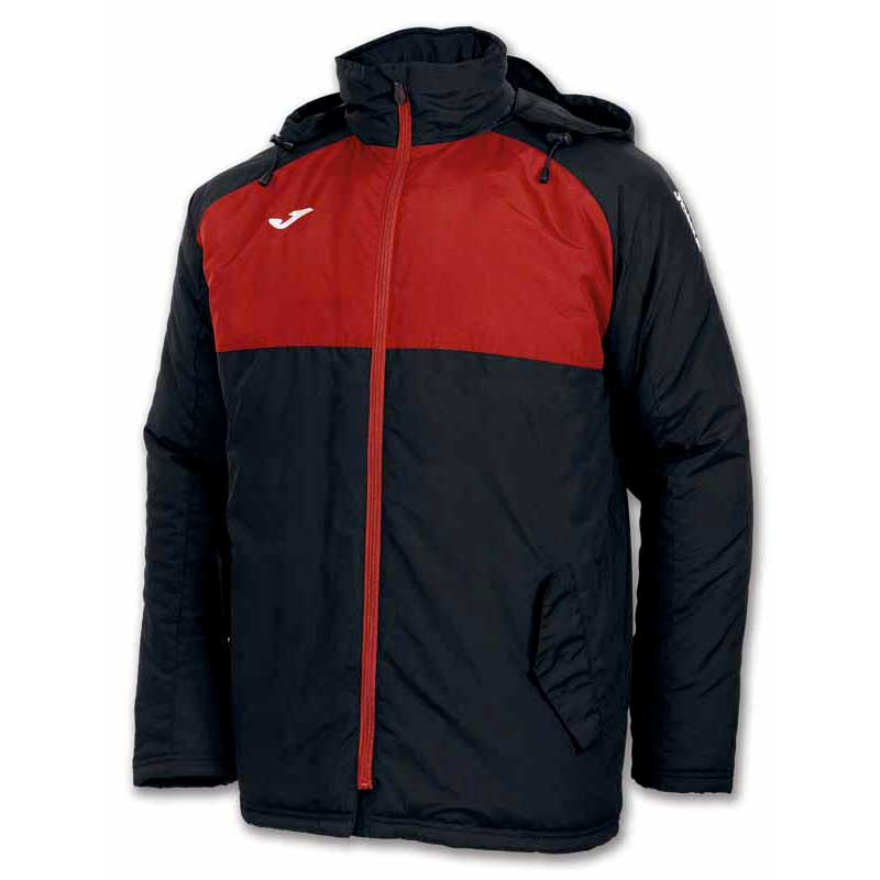 Vestes Joma Anorak Andes M Black / Red