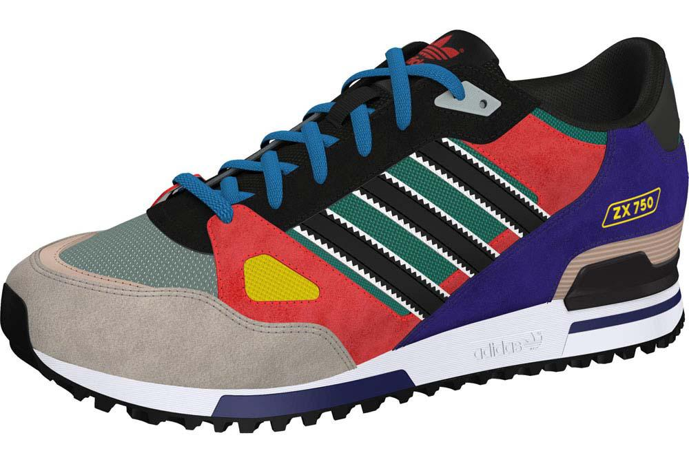 Online Shopping For Adidas Originals Zx 750 Orange Purple