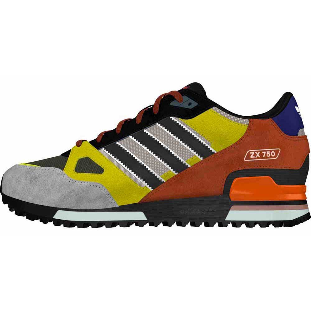 finest selection b1777 8be41 adidas zx 750 black fox red