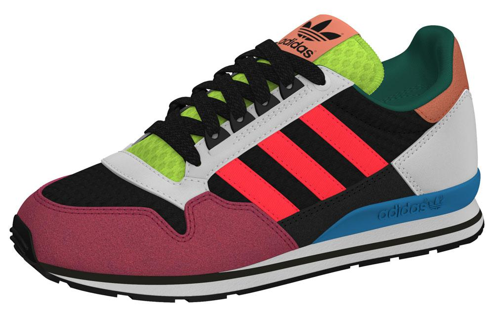 adidas originals zx 500 kids red