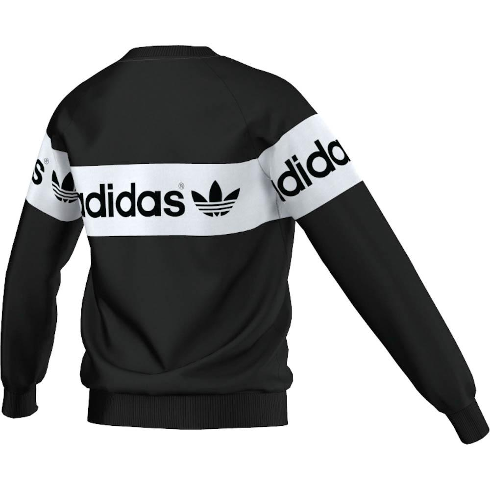 9d17e8ed adidas originals Junior Ms Logo Crew buy and offers on Dressinn