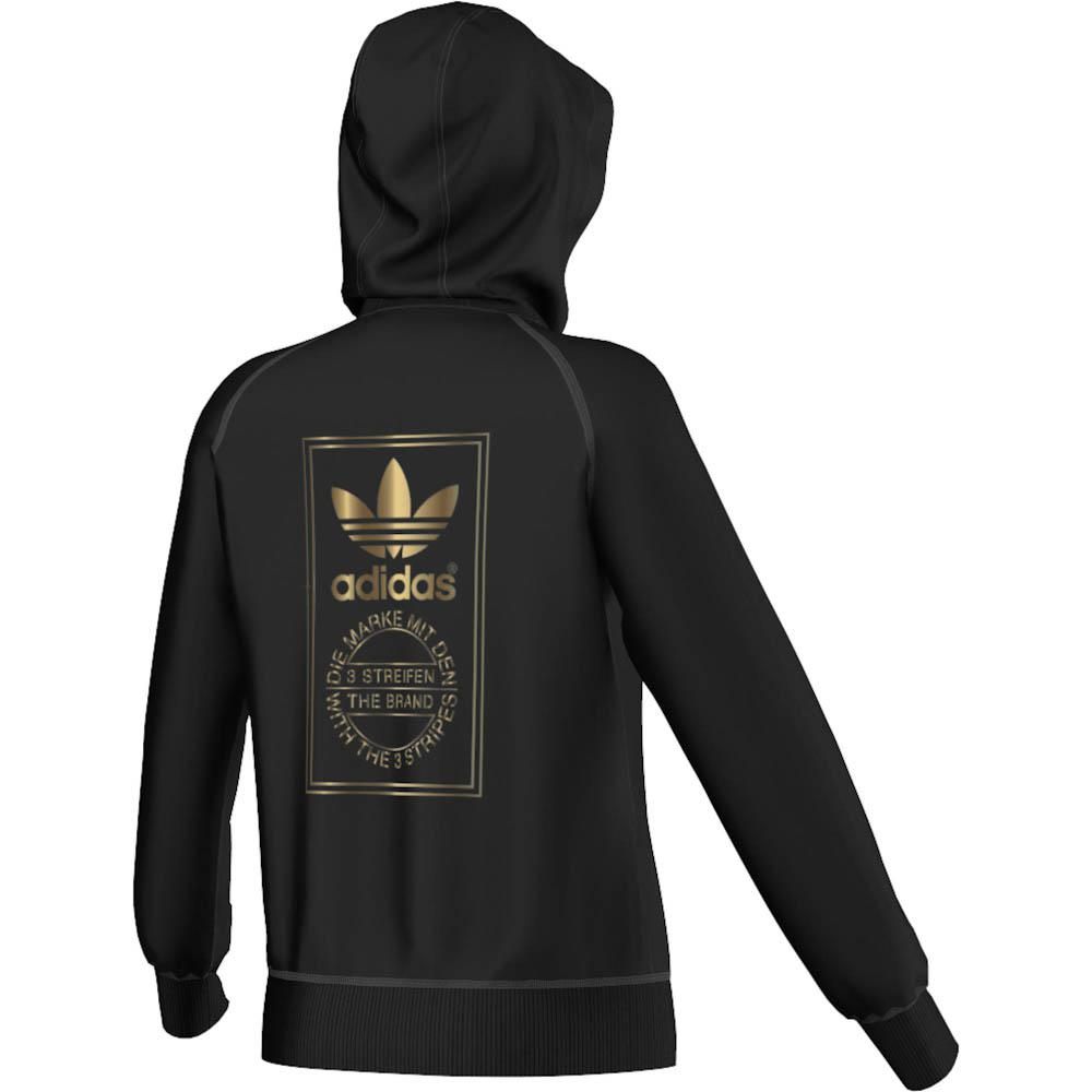adidas originals Le Gold Hoody Black Woman. close. up down. < Back to previous page | Womends clothing > Sweaters