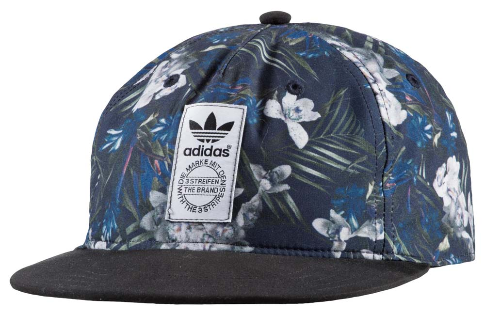 e4d37bf9358c8 adidas originals Dark Floral Snapback buy and offers on Dressinn