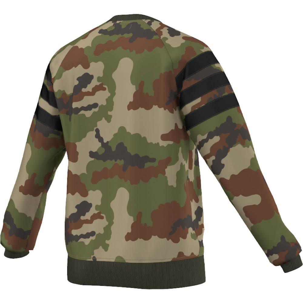 adidas camo sweater