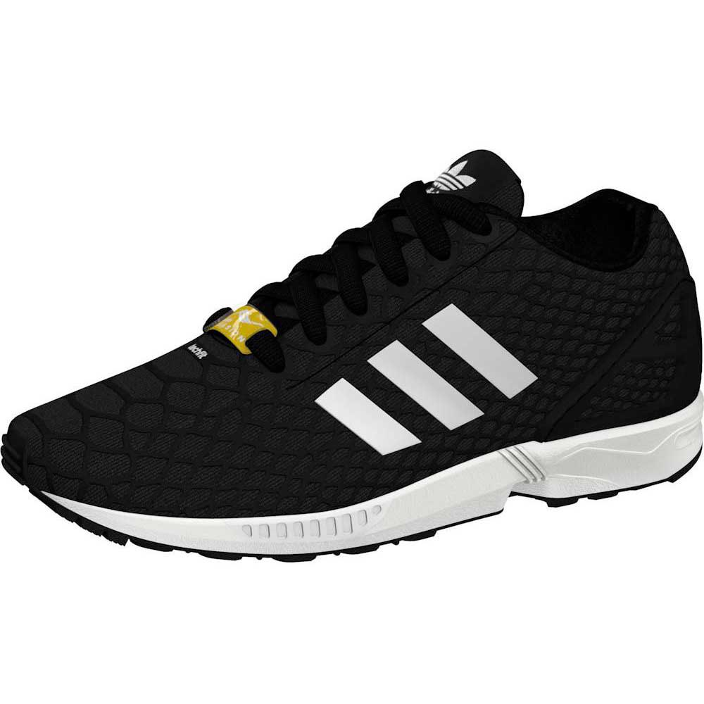 5547b8dee1294 adidas originals Zx Flux Techfit Core Black   Core Black   Ftwr White