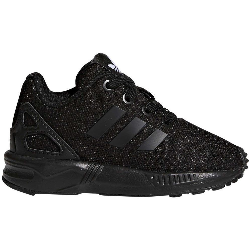 adidas originals Zx Flux El Infant Trainers Black, Dressinn