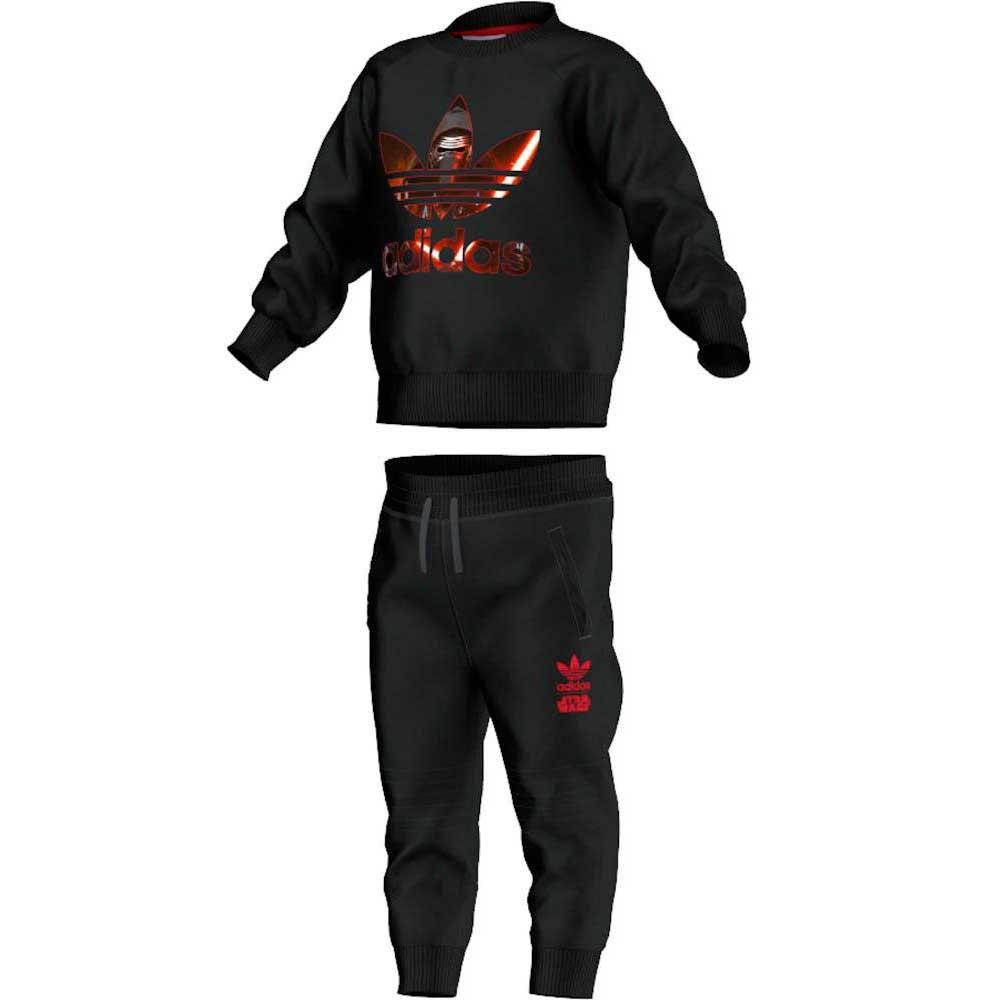 Adidas Star Vill Crew3Dressinn Wars Originals I vONn80mw