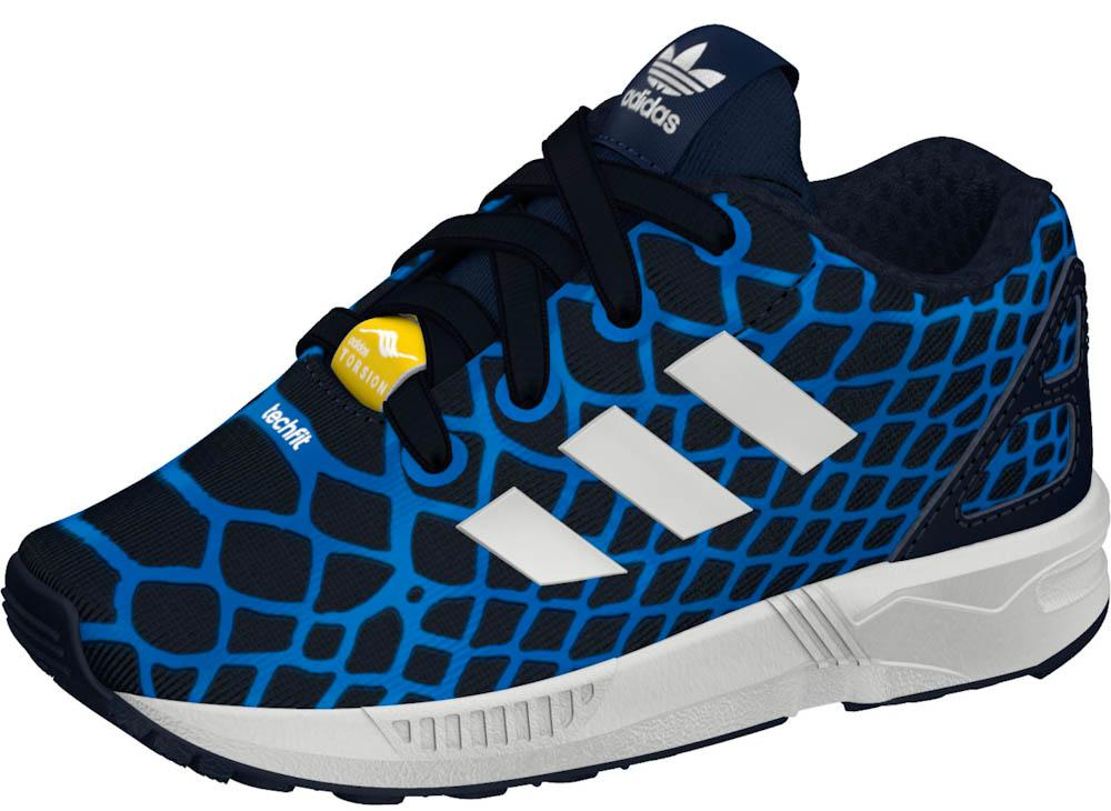 check out a2b65 e73a3 ... best price adidas originals zx flux techfit el infant 130b9 90553