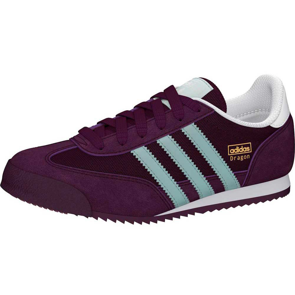 adidas original dragon purple