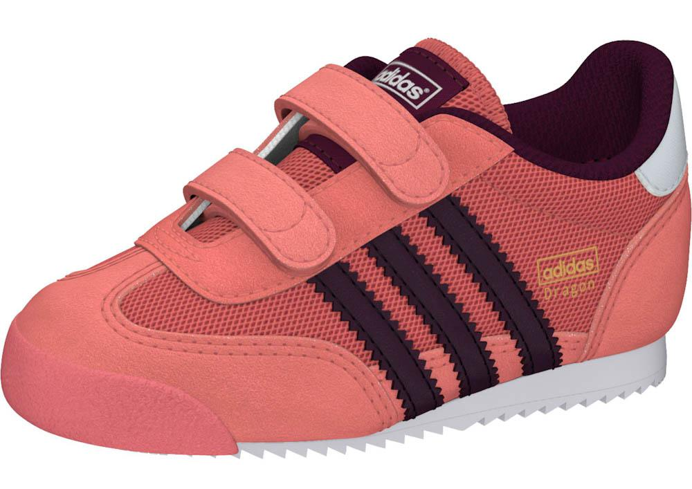 adidas DRAGON INFANTS Peach PinkMerlot