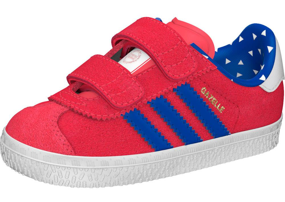adidas originals Gazelle 2 Cf Infant buy and offers on Dressinn 45cbddd68