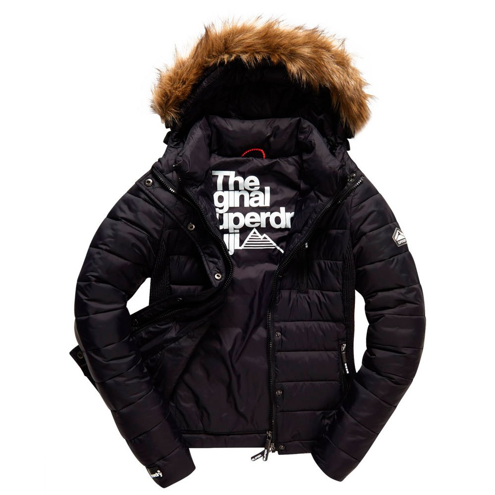 Superdry Fuji Slim Double Zip Hood