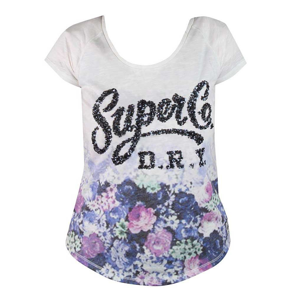 Superdry Floral Sparkle Tee