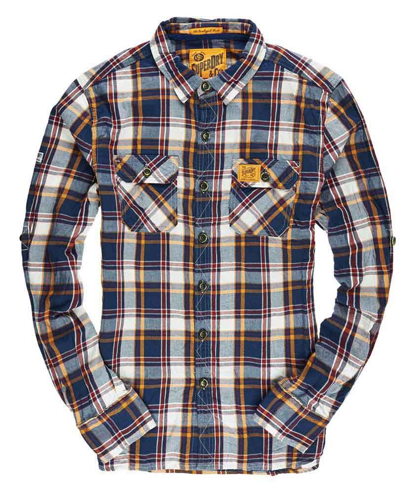 Superdry Lumberjack Twill Shirt Buy And Offers On Dressinn