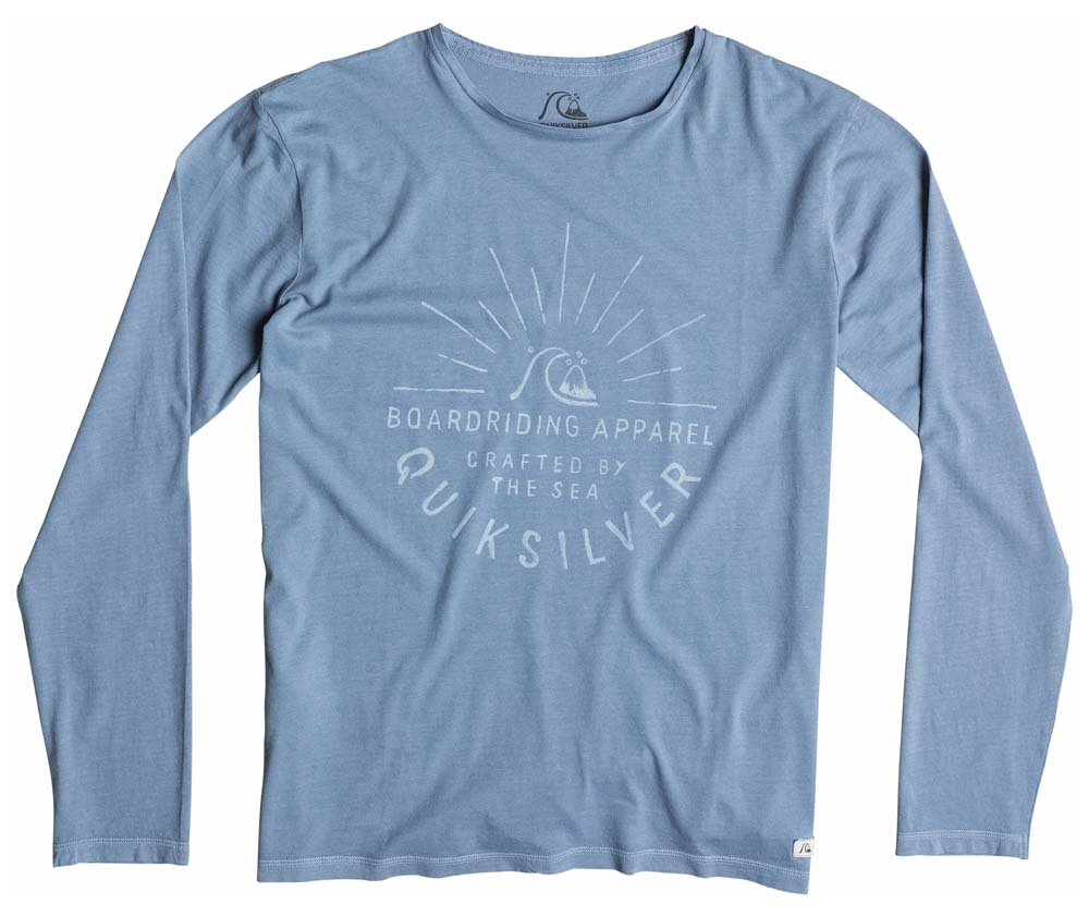 Quiksilver Garment Dyed Ls Rising Sunset