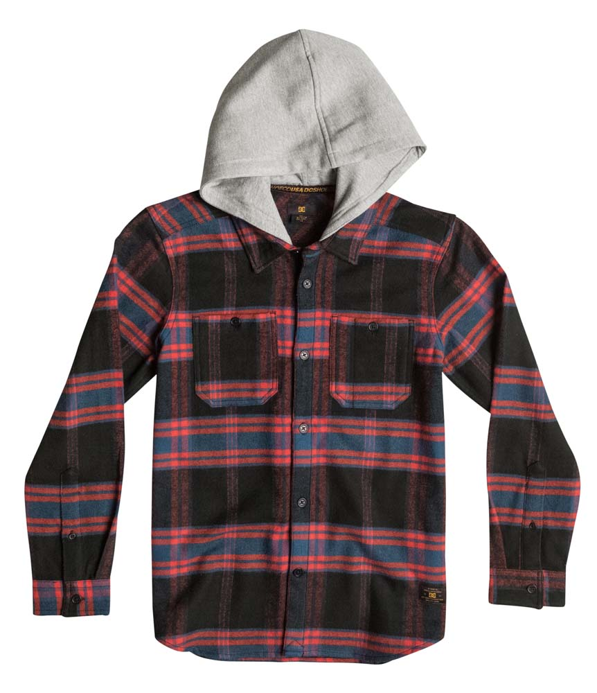 Dc shoes Hood Up L/s Youth