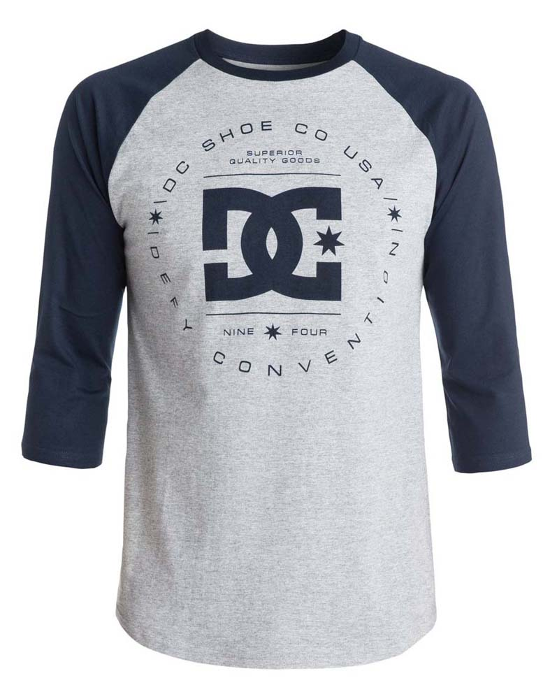 Dc shoes Rebuilt Raglan Tee