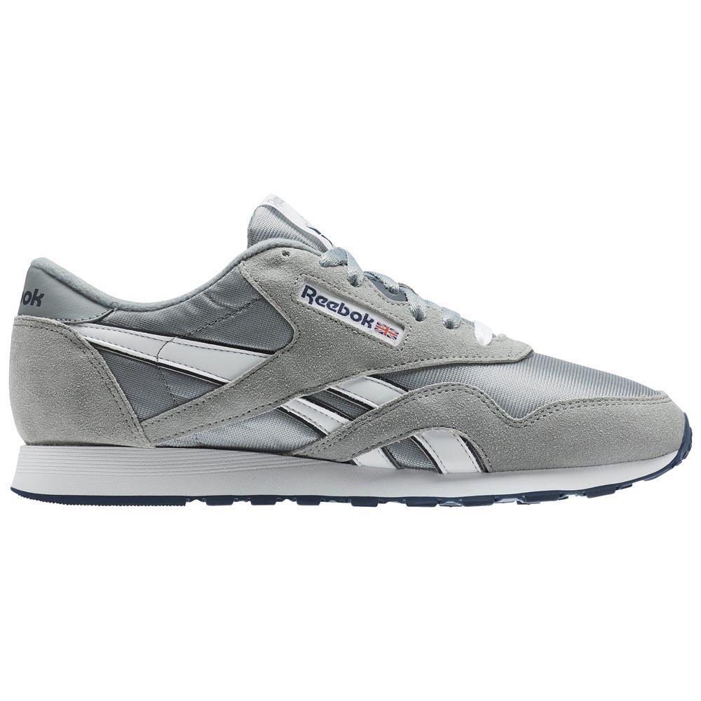 Sneakers Reebok-classics Cl Nylon EU 35 Platinum / Jet Blue