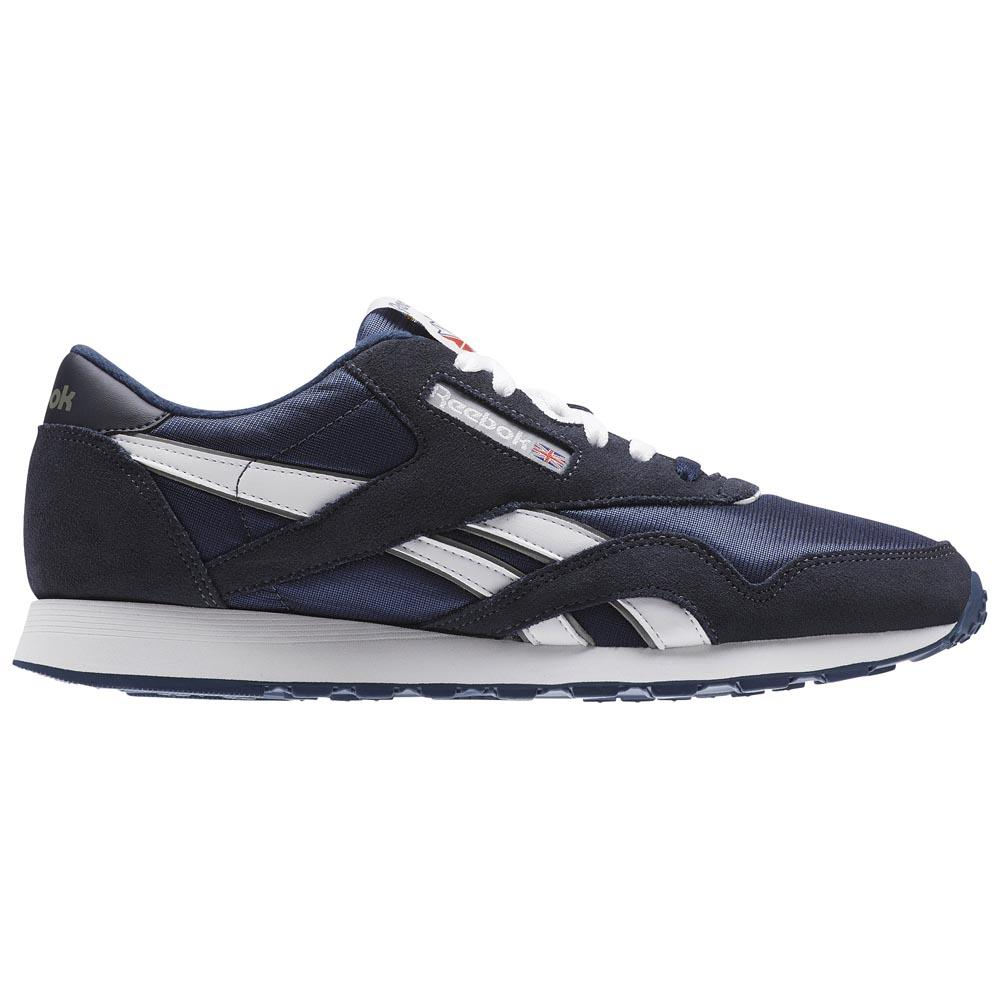 Sneakers Reebok-classics Cl Nylon EU 33 Team Navy / Platinum