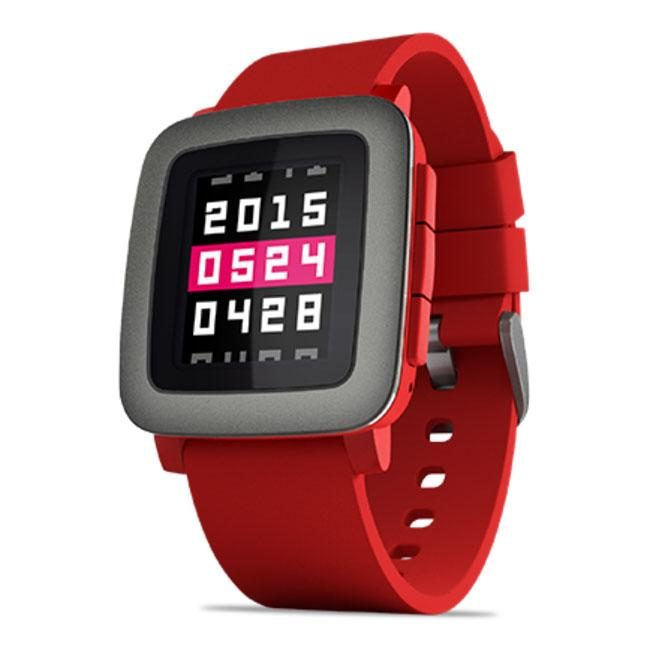 Pebble Smartwatch Time
