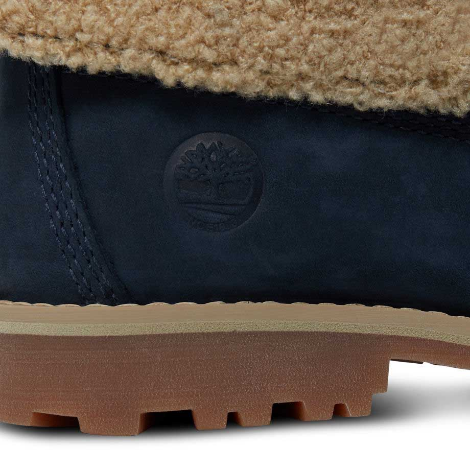 Timberland Authentics 6 In Waterproof Faux Shearling Boot Toddlers