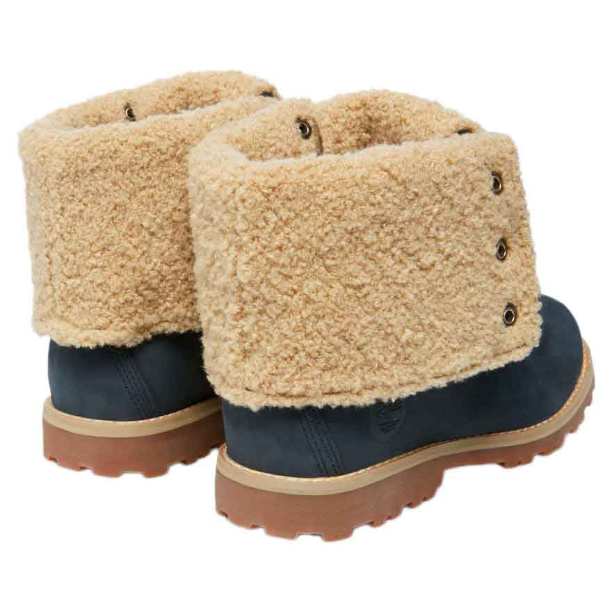 Timberland Authentics 6 In Waterproof Faux Shearling Boot Junior