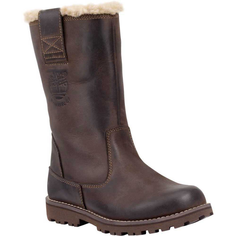 Timberland Asphalt Trail 8 In Pullon Waterproof Boot With Faux Shearling