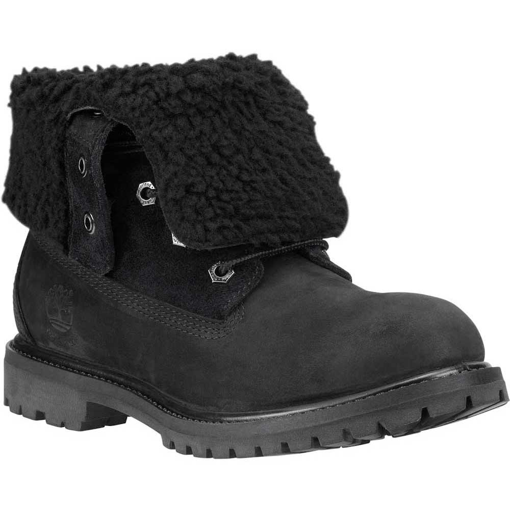 detaillierter Blick klassische Schuhe große Sammlung Timberland Authentics Teddy Fleece Waterproof Folddown Wide
