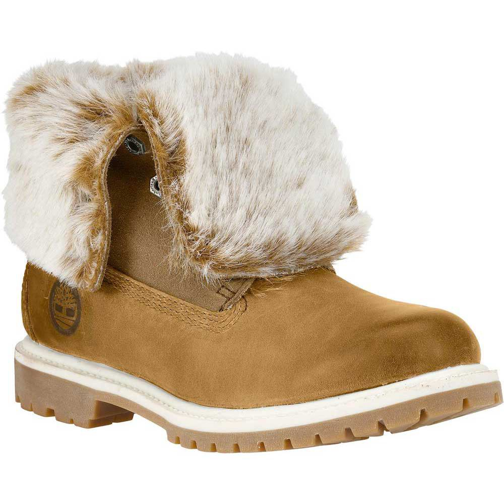 timberland authentics faux fur