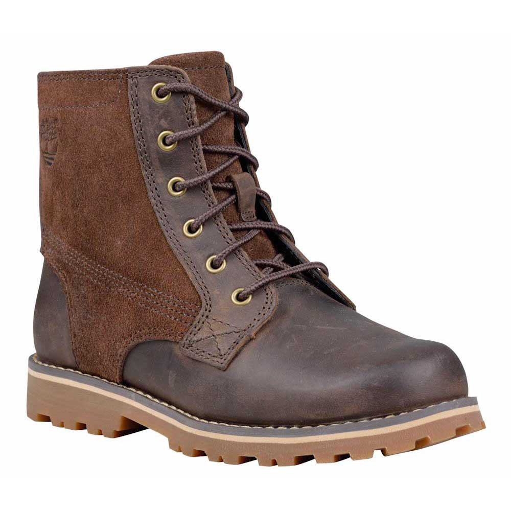 Timberland Asphalt Trail Chestnut Ridge 6 In Plain Toe With Side Zip Youth