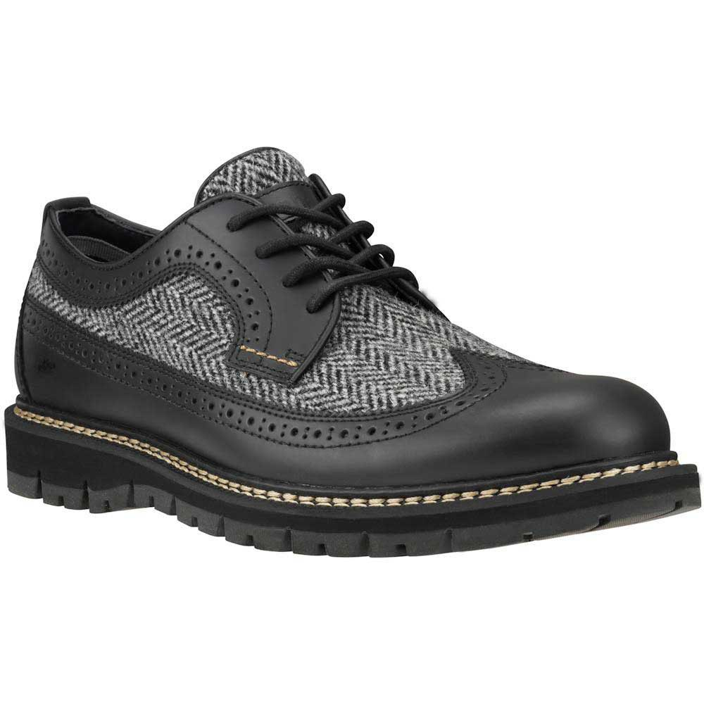 Timberland Britton Hill Leather And Fabric Oxford
