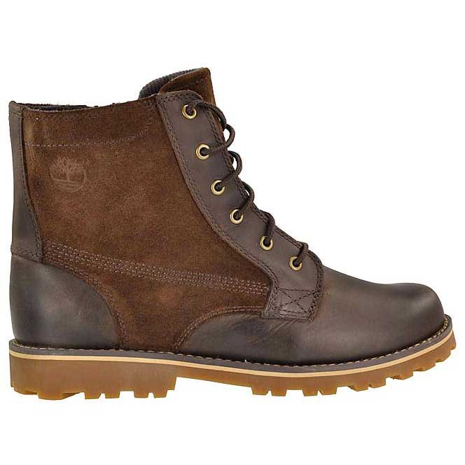 Timberland Asphalt Trail Chestnut Ridge 6 In Plain Toe With Side Zip