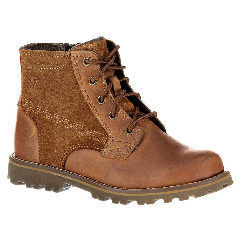 Timberland Asphalt Trail Chestnut Ridge 6 In Plain Toe With Side Zip Toddlers
