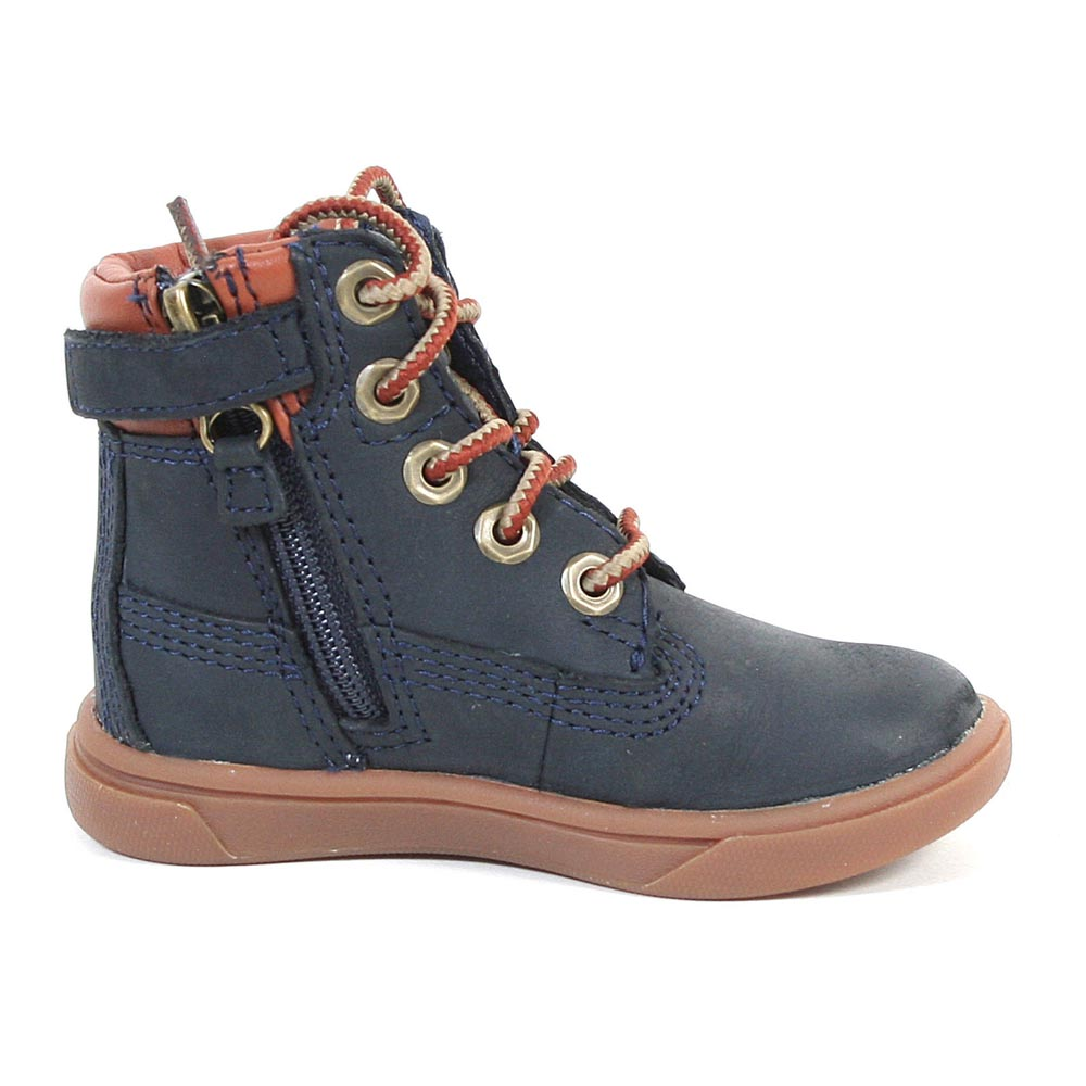 Timberland Groveton 6 In Lace With Side Zip Toddlers