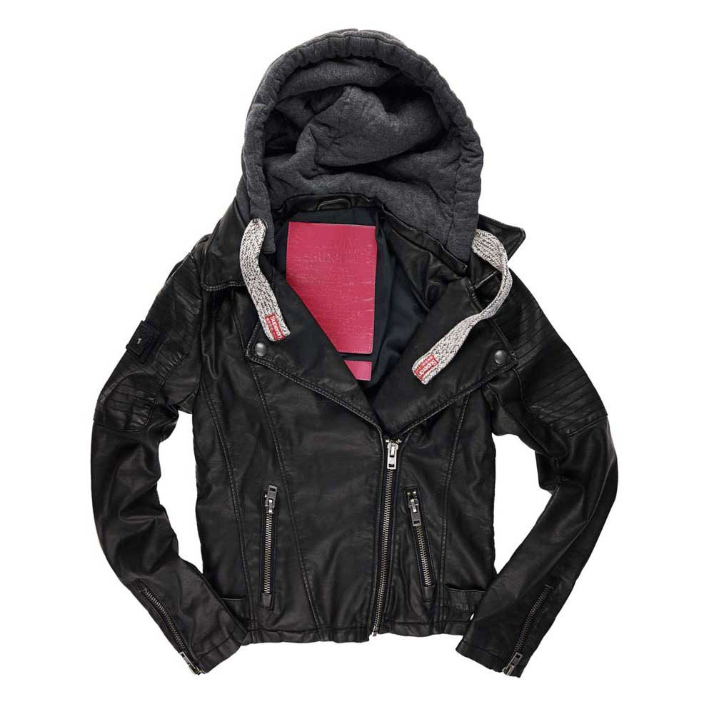 Superdry Hooded Biker